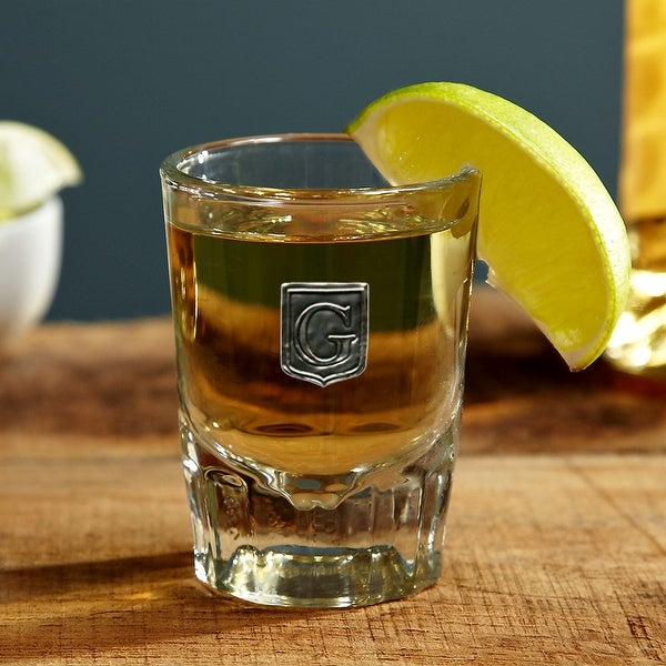 Regal Crested Personalized Shot Glass. Opens flyout.