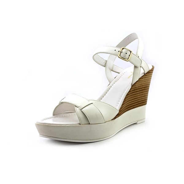 Cole Haan Paley High Wedge Women  Open Toe Leather  Wedge Sandal