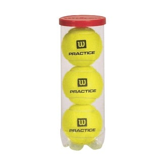 Wilson All-Court Practice Tennis Balls, Pack of 72