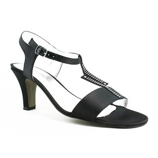 New David Tate Womens Stargaze-001 Black Ankle Strap Sandals Size 8.5