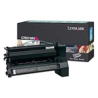 """Lexmark C782X1MG Lexmark Extra High Yield Return Program Magenta Toner Cartridge - Magenta - Laser - 15000 Page - 1 Each"""