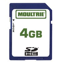 Moultrie MFHP60010 4GB SD Memory Card Store Data without Losing Quality & Plug & Play