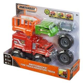 Matchbox Switchbacks Fire Truck
