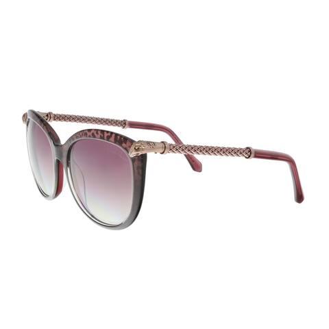Roberto Cavalli RC979S 83Y TANIA Violet Square Sunglasses - 57-18-135