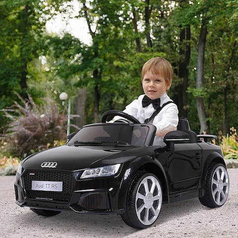 Aosom 6V Audi TT RS Kids Electric Sports Car Ride On Toy One Seat with Remote Control