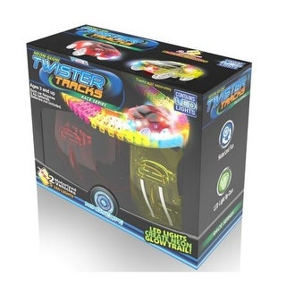 Mindscope Neon Glow Twister Tracks(TM) Add On Race Cars (2 Pack)