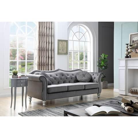 Hollywood Velvet Sofa