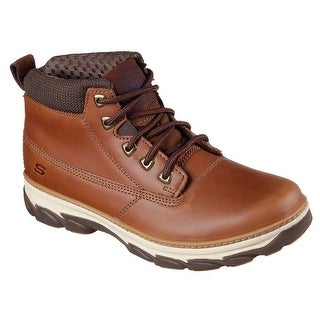 Skechers 64837 TAN Men's RESMENT-ALENTO Boot