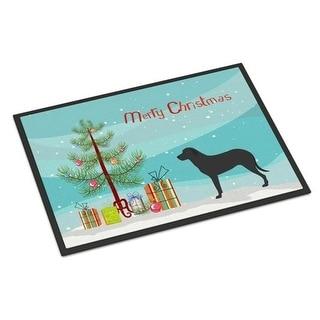 Carolines Treasures BB8508MAT Majorca Shepherd Dog Christmas Indoor or Outdoor Mat - 18 x 27 in.