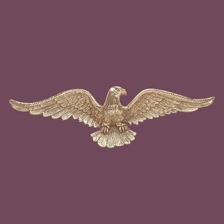 American Bald Eagle Cast Brass 6 H X 19 W Renovator's Supply