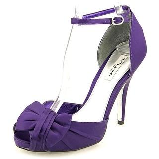 Nina Ella Open Toe Canvas Sandals