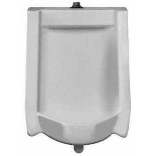 Sloan SU-1009-A Efficiency Dual Flush 0.125 to 0.5 GPF Urinal with Top Spud Placement