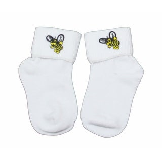 Bumblebee Bobby Socks Perfect for the Buzzy Kid in Infant Girls Sizes