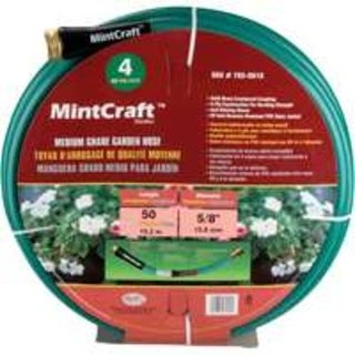Mintcraft BL5820050HM Med. Duty Hose 5/8In 50Ft 4Ply