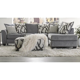 Link to Sofa Trendz Fara Smoke Sectional & Ottoman Similar Items in Living Room Furniture Sets