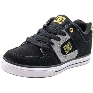DC Shoes Manteca   Round Toe Suede  Skate Shoe