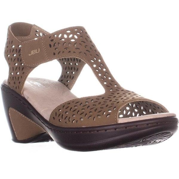 4a1e197c965b Shop JBU by Jambu Chloe Cutout T-Strap Comfort Sandals