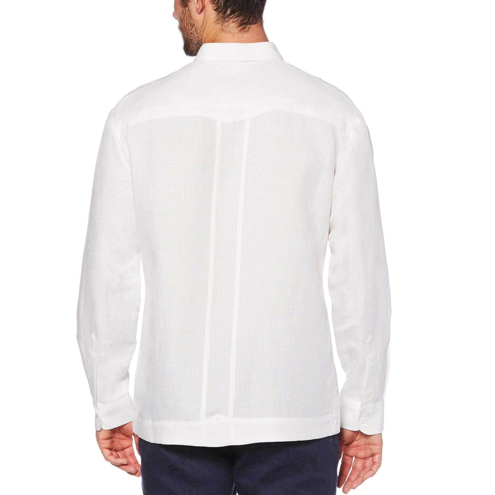 Cubavera Men/'s Short Sleeve Embroidered Guayabera Shirt Choose SZ//Color
