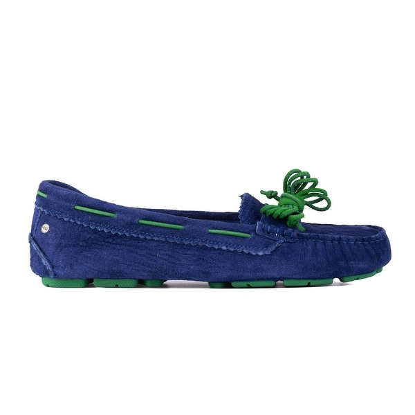 55105170631 Shop UGG Womens Blue Green Suede Meena Flat Moccasins Size US7.5~RTL ...