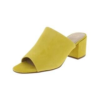Marc Fisher Womens Rain Dress Sandals Mules Open Toe