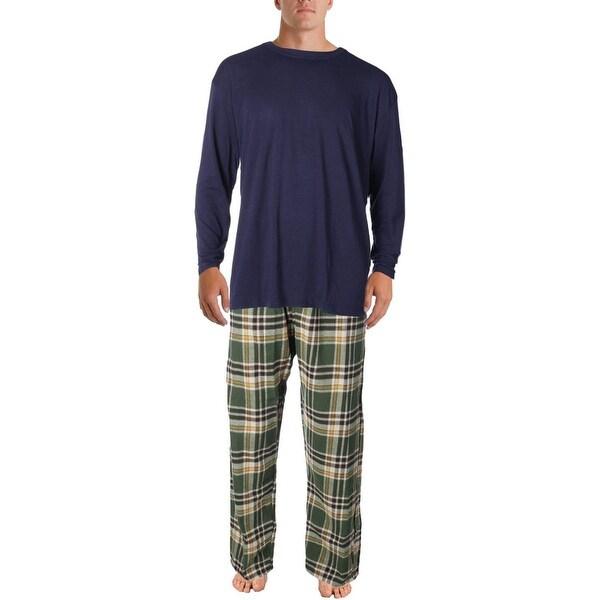 Weatherproof Mens 2PC Flannel Pajama Gift Set