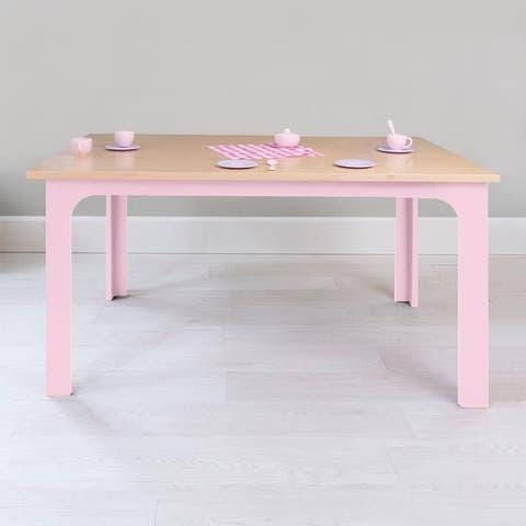 Taylor & Olive Marigold 42-inch Wood Veneer Kids Table