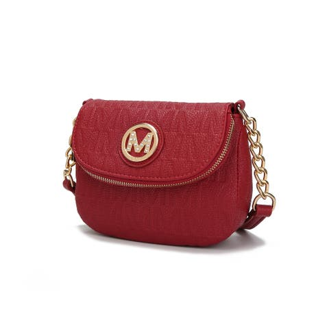 MKF Collection by Mia K. Cassidy M Signature Crossbody