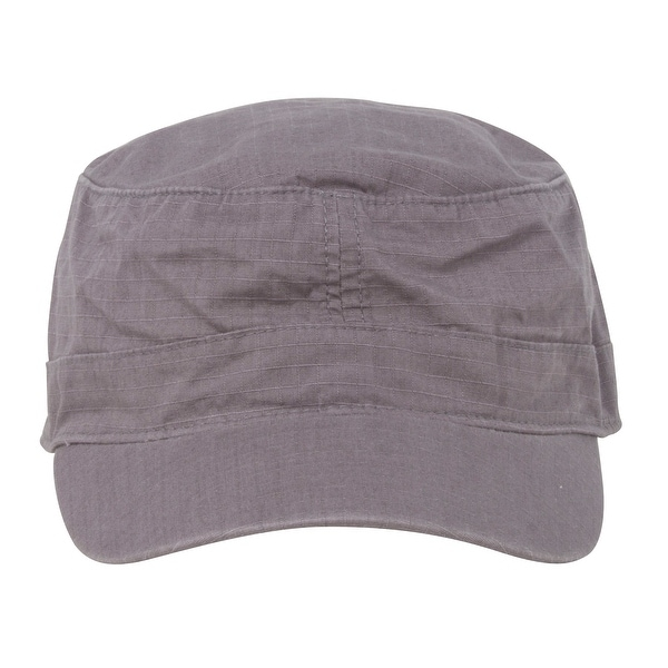 23320735 Shop Fitted Cotton Ripstop Army Cap-Charcoal - Free Shipping On ...