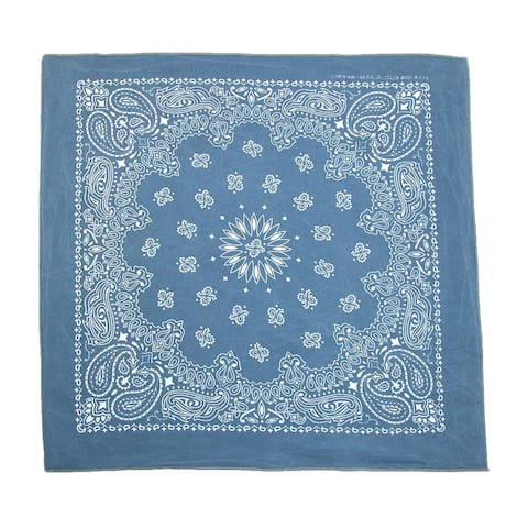 CTM® Cotton Stonewash Bandana - one size