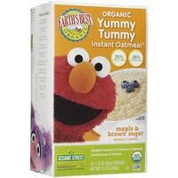 Earth's Best - Sesame Street Instant Maple & Brown Sugar Oatmeal ( 12 - 15.1 OZ)