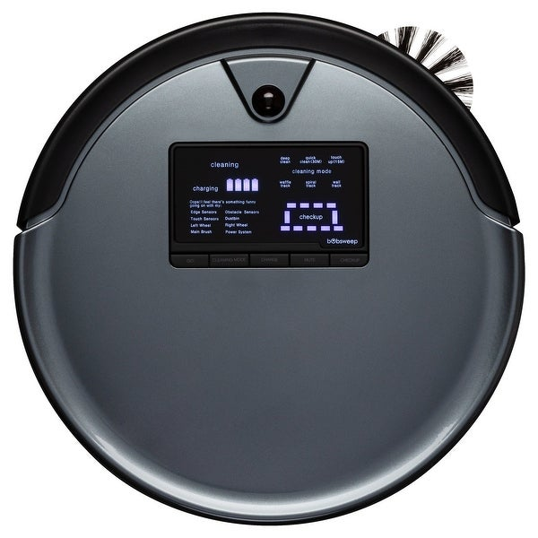 bObsweep PetHair Plus Robotic Vacuum Cleaner and Mop. Opens flyout.
