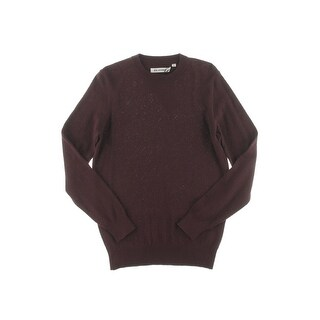 Ben Sherman Mens Pullover Sweater Ribbed Trim Chevron Pattern (3 options available)