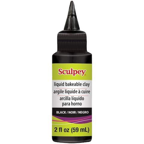 Liquid Sculpey 2Oz-Black