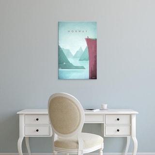 Easy Art Prints Henry Rivers's 'Norway' Premium Canvas Art