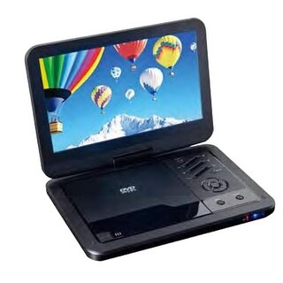 Supersonic SC-1710DVD 10.1 in. Portable DVD Player with USB