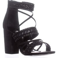 Carlos by Carlos Santana Java Strappy Sandals, Black