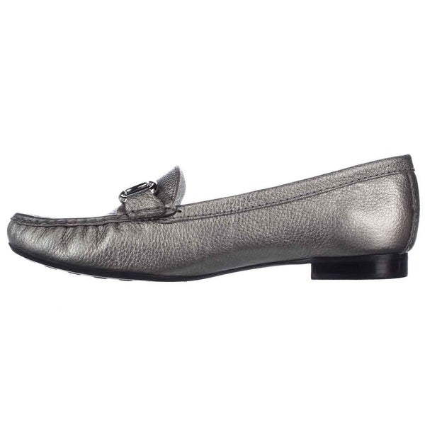 Marc Joseph New York Womens Grand St. Leather Closed Toe Loafers