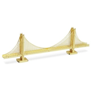 Gold Golden Gate Bridge Metal Earth 3D Laser Cut Model
