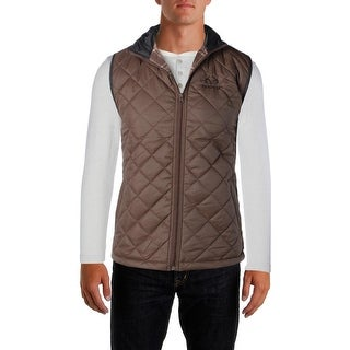 Realtree Mens Outerwear Vest Quilted Water Resistant