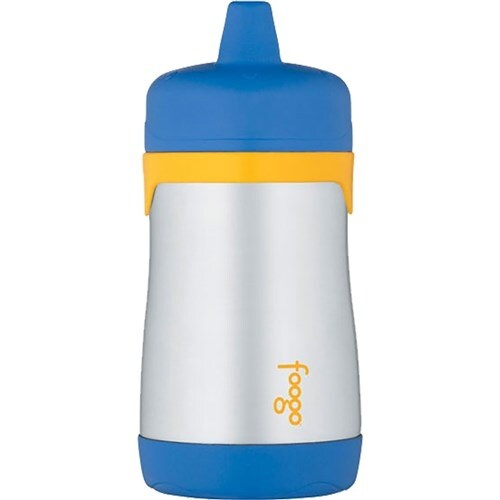 """Thermos Foogo Vacuum Insulated Hard Spout Sippy Cup - Blue Foogo Vacuum Insulated Hard Spout Sippy Cup - Blue"""