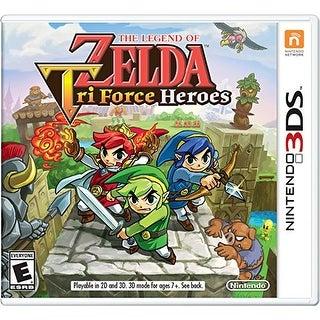 Zelda Triforce Heroes - Nintendo 3DS