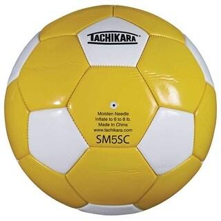 Tachikara SM5SC Soccer Ball (Gold/White)