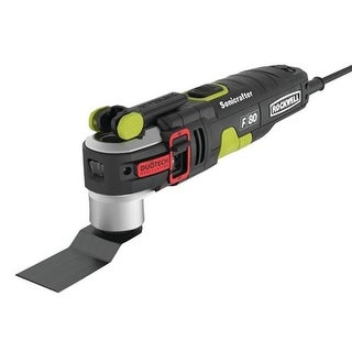 Rockwell RK5151K Corded DuoTech Oscillating Tool, 4.2 A, 19000 opm, 4 in L, 6 ft Cord