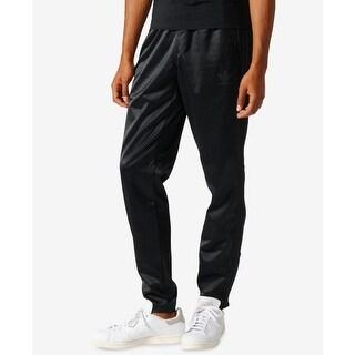 Adidas Deep Black Mens Size 2XL Jogger Drawstring Pants Stretch