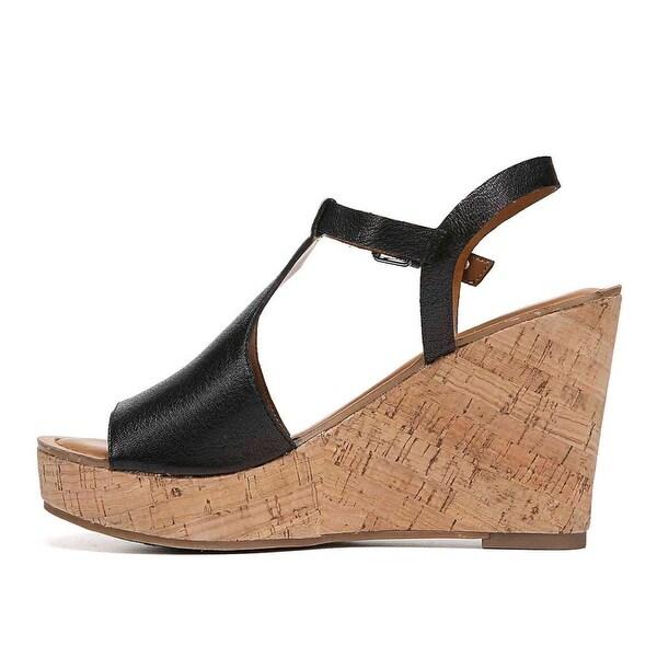 Franco Sarto Womens clinton Open Toe Casual Platform Sandals - 7.5