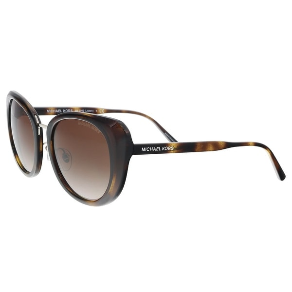 3deb356613de Michael Kors MK2062 328513 Dark Tortoise Cat eye Sunglasses - 52-20-140