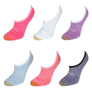 Gold Toe Women's Athletic Sport Tech So Low Socks (6 Pair Pack) (Option: Pink Multi)