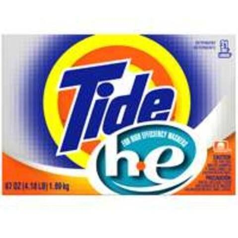 Tide 84981 Powder Detergent, 67 Oz