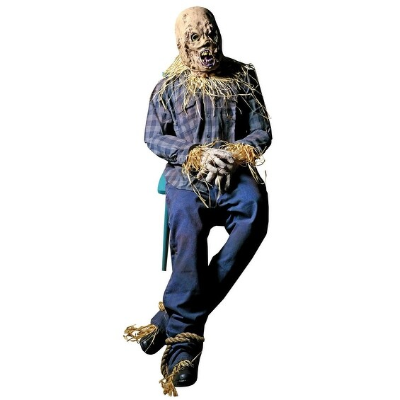 Scary Scarecrow Halloween Prop