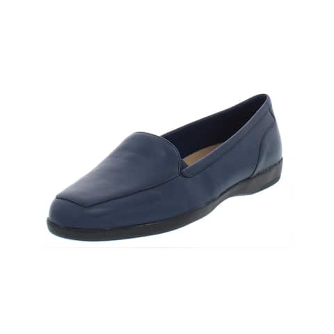 71b4b6795dc9 Easy Spirit Womens Devitt Loafers Leather